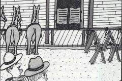saw-horses